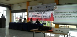 Sosialisasi Pencegahan Penularan HIV-AIDS di Kabupaten Pati