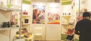 Produk Kerajinan Pati Diminati: Stan Terbaik Bengkulu Expo 2016